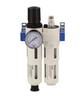 "Olie-/Waterafscheider reduceerventiel en olienevelaar 3/4"" 15 bar"