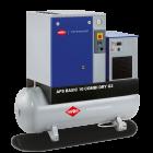 Schroefcompressor APS 10 Basic G2 Combi Dry 10 bar 10 pk/7.5 kW 984 l/min 500 L