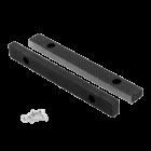 """Bekken 200 mm vervangingsset met bouten voor stalen bankschroef 8"""" 200 x 220 mm"""