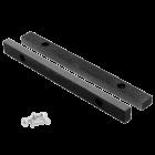 """Bekken 250 mm vervangingsset met bouten voor stalen bankschroef 10"""" 250 x 265 mm"""