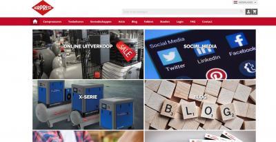 Grote veranderingen website Airpress