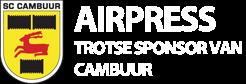 Airpress, trotse sponsor van Cambuur!