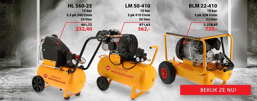 Nieuwe Limited serie compressoren