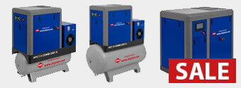 Schroefcompressor aanbieding