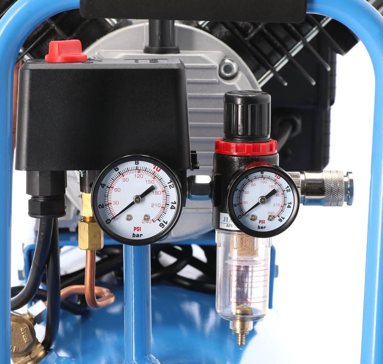 oliewaterafscheider op de LM 50-350