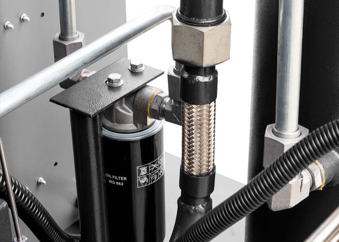 Stille schroefcompressor 2-stage motor APS 50 X 2-stage IVR