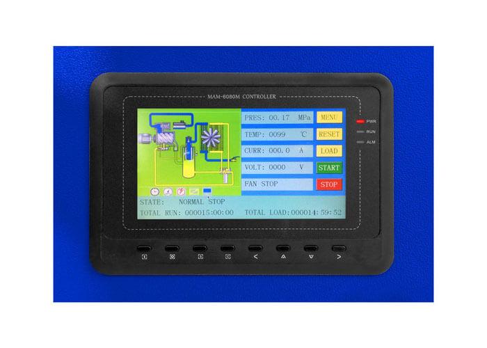 MAM-6080 kleuren touchscreen op de APS 10 IVR Combi Dry X